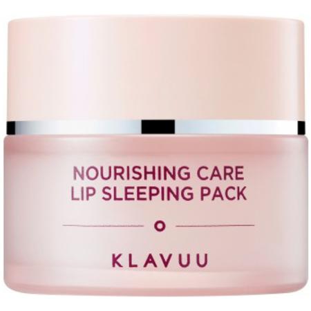 KLAVUU Nourishing Care Lip Sleeping Pack - Питательная ночная маска для губ